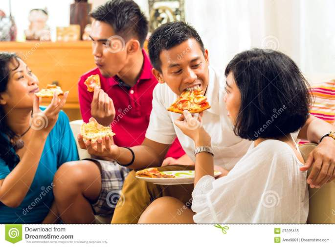 asian-people-eating-pizza-party-27225185